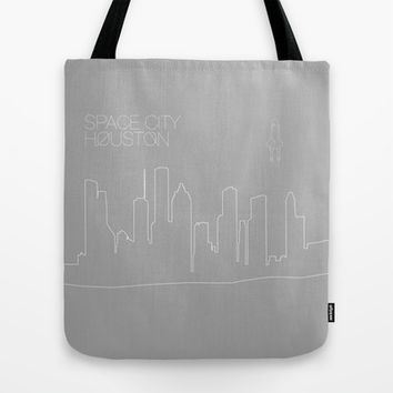 Space City Tote Bag by Half Moon Industries