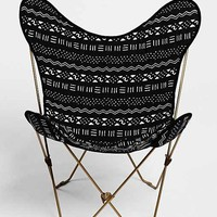 4040 Locust Mari Canvas Butterfly Chair Cover - Urban Outfitters