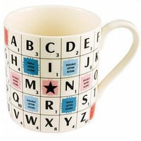 Retro To Go: Scrabble Mug by The Letteroom