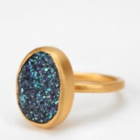 Adorn By Sarah Lewis Jewelry Druzy Quartz Ring