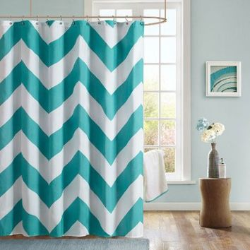 Libra Polyester Shower Curtain