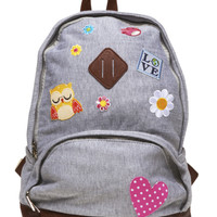 Happy Patches Backpack | Wet Seal