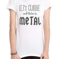 Let's Cuddle Girls T-Shirt