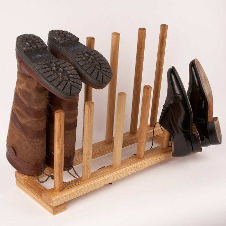 ~$136.00 6 Pair Boot Rack