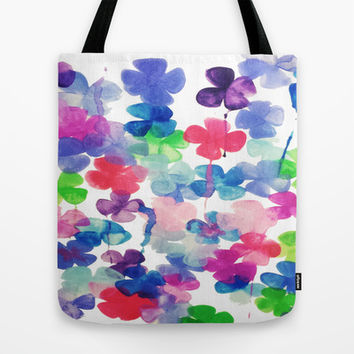 Garden Tote Bag by DuckyB (Brandi)