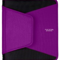 Five Star Zipper Binder, 1.5-Inch Capacity, 12.75 x 11.25 x 1 Inches, Purple (72532)