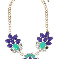 Jewel Toned Amanda Necklace