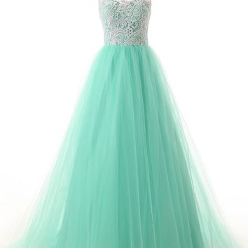 Dressystar Straps Bridesmaid Dresses Prom Gowns with Buttons