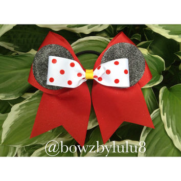 "Minnie Mouse 3"" Cheer Bow"