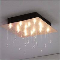 CRYSTAL RAIN SQ | Ceiling - LC-16161555  - Lightology.com