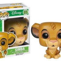 Funko POP! Disney: The Lion King Simba Action Figure