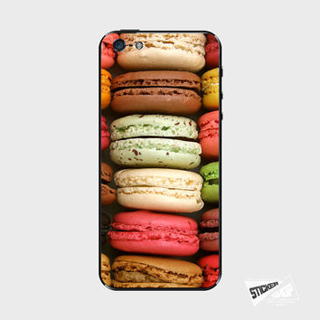 Macaron iPhone 5 Cover iPhone 5S Skin iPhone 4 Sticker iPhone 4S Decal