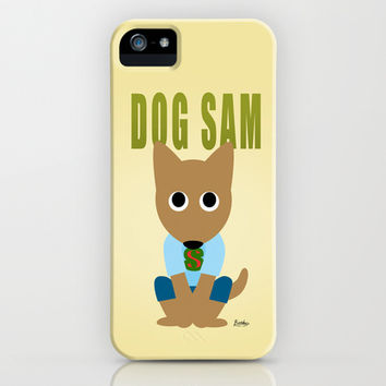 Dog Sam iPhone & iPod Case by BATKEI