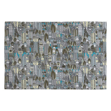 Sharon Turner Aluminum City Woven Rug