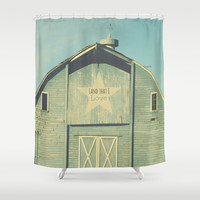 Land that I Love Shower Curtain by RDelean