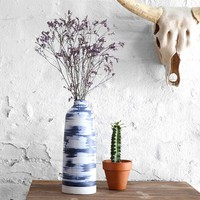 Faded Dye-Stripe Vase - Urban Outfitters