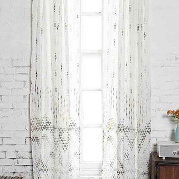Magical Thinking Abstract-Geo Curtain  Urban Outfitters