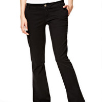 Jordin Twill Pants in Black