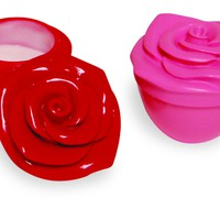 Rose Lotion - Rose Shaped Container of Moisturizing Hand Cream