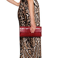 THE LOOK | Designer look with 'Jersey Animal Print Gown' from Just Cavalli | Luxury fashion online | STYLEBOP.com