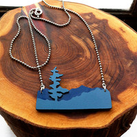 Blue Ridge Parkway Necklace