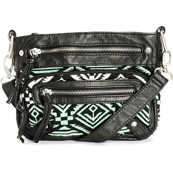 T-Shirt   Jeans Shelly Mint Tribal Purse