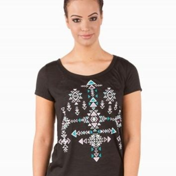 SPOILED AZTEC GRAPHIC TEE