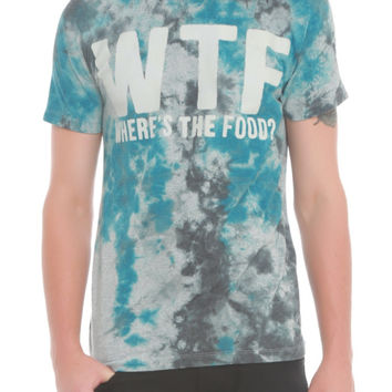 WTF Wheres The Food Tie Dye T-Shirt