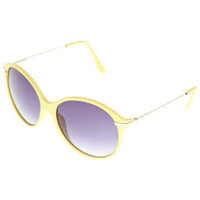 Yellow Round Sunglasses - Sunglasses - Accessories - Miss Selfridge