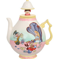 Disney Alice In Wonderland Teapot