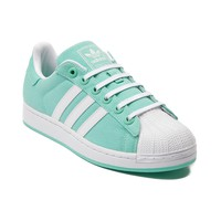 Womens adidas Superstar Canvas Athletic Shoe