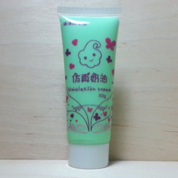 Simulation Cream (fake whipped cream) 50 ml - green