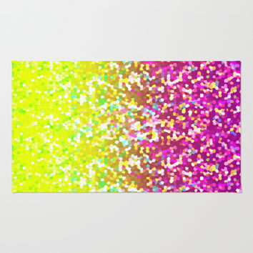 Glitter Graphic G224 Area & Throw Rug by MedusArt | Society6