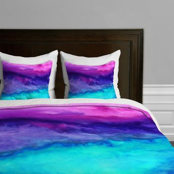 DENY Designs Jacqueline Maldonado The Sound Duvet Cover, King