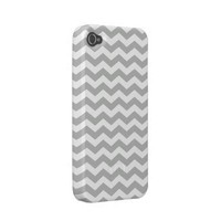 Chevron Pattern iPhone 4 / 4s Casemate Case Case-mate Iphone 4 Cases from Zazzle.com