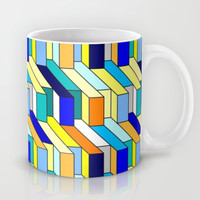 colorful August Mug by MehrFarbeimLeben