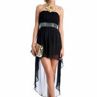 embellished high-low formal $67.99 in BLACK - High-Low | GoJane.com