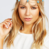 Avery Stone Drop Headchain
