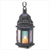 Magic Rainbow Candle Lantern  14119 - Jars &amp; Holders