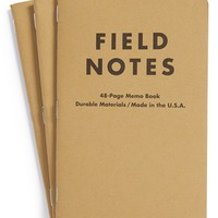 Field Notes Ruled Memo Books (3-Pack)