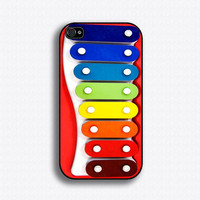 Toy Xylophone iPhone case for iPhone 4 and 4s by iCaseSeraSera