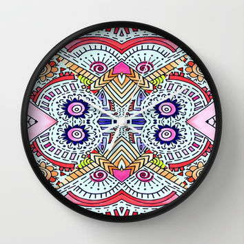 Fiesta Wall Clock by DuckyB (Brandi)