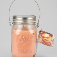 Hanging Mason Jar Candle