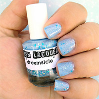 Dreamsicle CustomBlended Glitter Nail Polish / by lushlacquer
