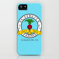Schrute Farms | The Office - Dwight Schrute iPhone & iPod Case by Silvio Ledbetter | Society6