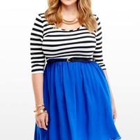 Plus Size Candace Belted Dress | Fashion To Figure