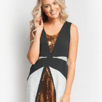 Sequin Dress- Black