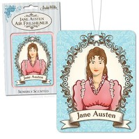 Jane Austen Deluxe Air Freshener - Lavender Scented - Pre-Order Now, Ships 7/11!