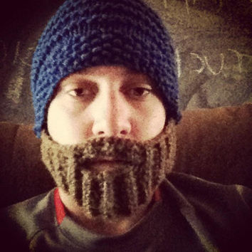 Beard Hat  Made to Order by ConchoPurl on Etsy