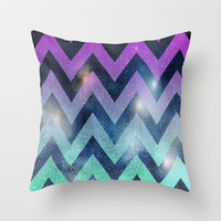 Chevron pattern raindrops lights Throw Pillow cover by tjc555 | Society6